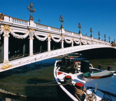 Schiffahrt auf die Seine
